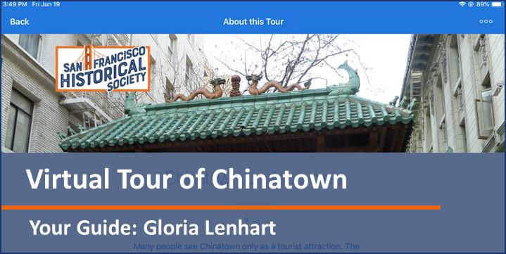 SFHS App - Chinatown