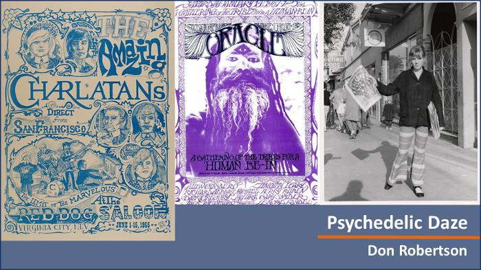 Psychedelic Daze - Don Robertson