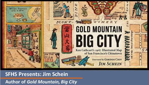 Jim Schein, Author Gold Mountain, Big City