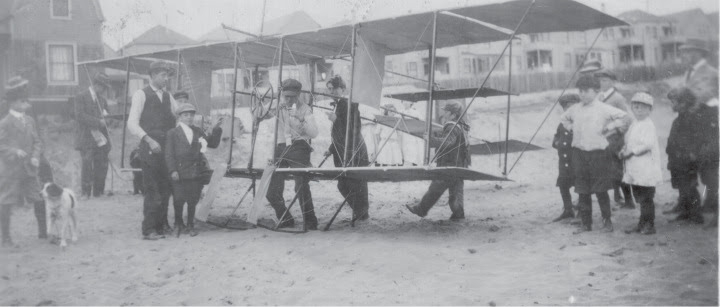 Early airplane test SF